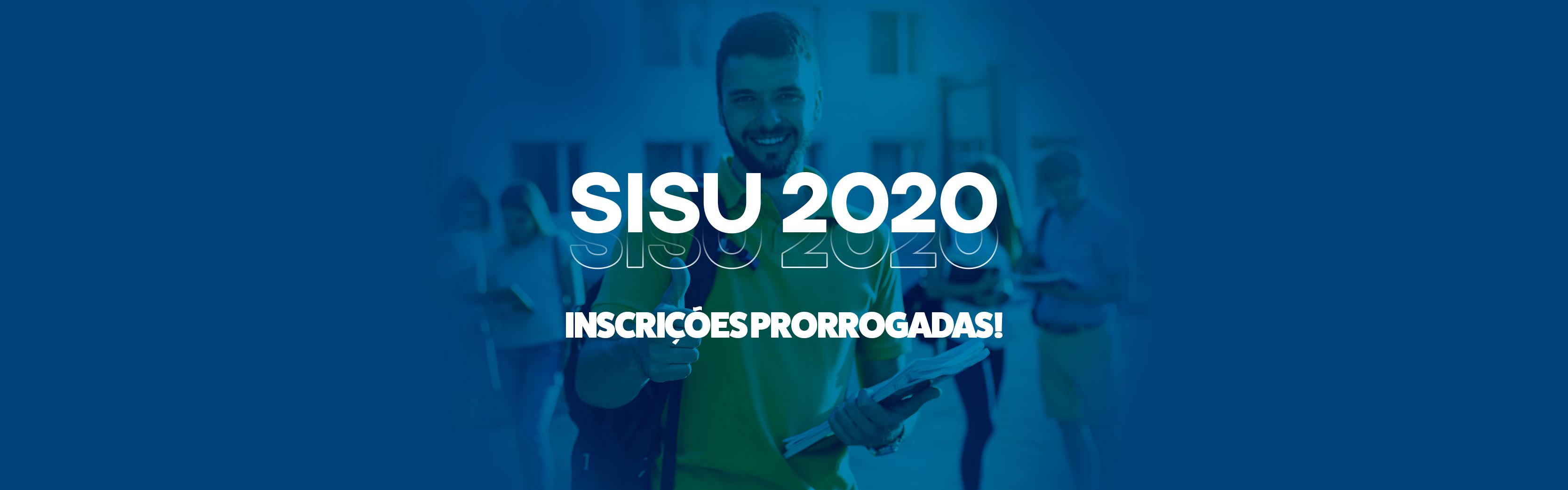 Inscrições do SISU 2020 foram prorrogadas: confira o novo prazo