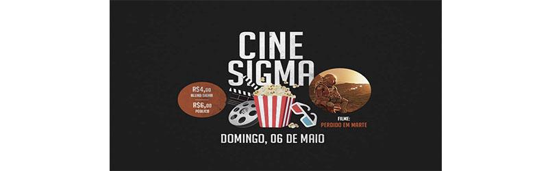 Sigma promove sessão de cinema com foco no vestibular