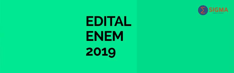Fique atento: publicado edital do Enem 2019